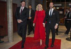 Princess Mette Marit and Prince Haakon attend Sports Gala 2018