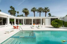 too late to have white concrete? 1255 E Via Estrella, Palm Springs, CA 92264 | Zillow