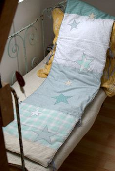 Baby bed valance // Tour de lit pour bébé