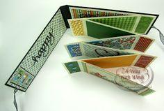 Graphic 45, Mini Album, Mother Goose, Suzanne Cannon, Elizabeth Craft Designs