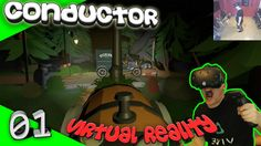 Conductor - Gruselige Abenteuer-Zugfahrt [Let's Play][Gameplay][German][HTC Vive][Virtual Reality] by VoodooDE