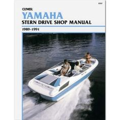 Clymer Yamaha Stern Drives (1989-1991)