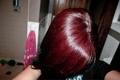 11 Best Manic Panic Vampire Red Ideas Semi Permanent Hair Color Hair Manic Panic Vampire Red