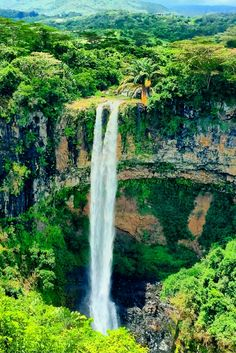 The Chamarel Falls, Mauritius, Africa