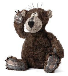 sigikid BEASTS 38128, peluche ours Bonsai Bear, coloris chocolat, taille 37 cm: Amazon.fr: Jeux et Jouets
