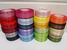 23 meters x 15mm Organza Glitter Effect Ribbon Giftware Silver Gold 25 yards