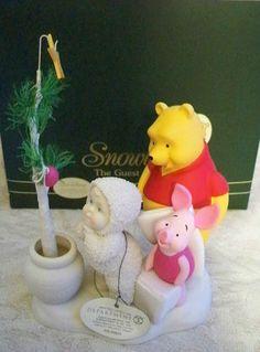 Department 56 Snowbabies Pooh's Hunny Tree Disney Showcase |