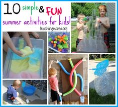 10 Simple and Fun Summer Activities for Kids