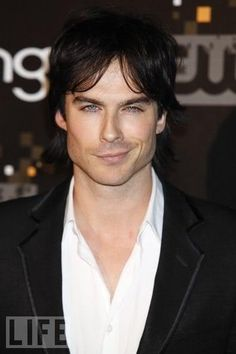 Ian Somerhalder is HOT...crooked smile, blue eyes, snarky and sarcastic HOT