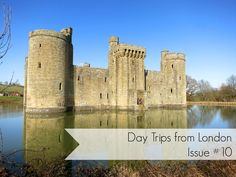 Globetrotter Postcards: Day Trips from London: London to Bodiam Castle