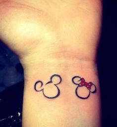 I would love to have matching tattoos like this someday <3