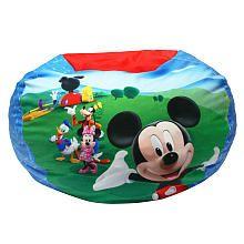 Mickey Mouse Club House Bean Chair