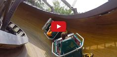 Most Amazing Bobsled Wooden Roller Coaster Video. This roller coaster at Knoebels in Elysburg, PA took 7 years to construct and Theme Park Review takes you