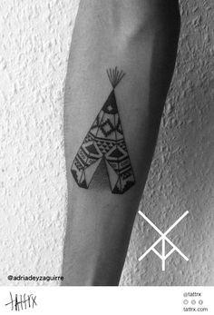 Tipi Tattoo by Adrià de Yzaguirre