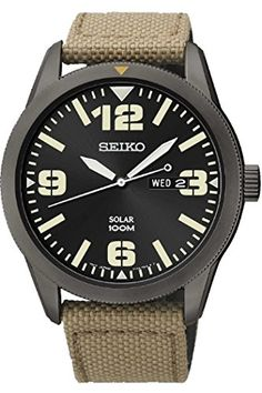 Seiko Mens Day/Date Display Watch SNE331P9