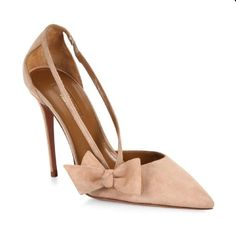 8113b8cd655 Shop the latest women s nude pumps and high heels in neutral shades of  beige