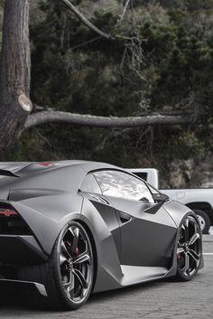 Sesto Elemento, a high-performance limited edition lightweight automobile produced by Italian automaker Lamborghini. Luxury Sports Cars, Best Luxury Cars, Cool Sports Cars, Cool Cars, Luxury Auto, Lamborghini Sesto, Koenigsegg, Maserati, Bugatti