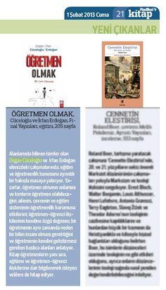 Doğan Yüceloğlu, İrfan Erdoğan - Öğretmen Olmak, Bir Can'a Dokunmak // Radikal Kitap, 01.02.2013