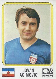 Jovan Acimovic - Yugoslavia - München 74 World Cup sticker 191 Panini Sticker, 1974 World Cup, Laws Of The Game, Football Stickers, Association Football, Most Popular Sports, World Cup Final, Album, Fifa