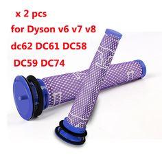 Co Thể Thao Rời Nhựa Mau Xam May Hut Bụi Stiff Long Ban Chải Cong Cụ Cho Dyson Dc58 Dc59 Dc62 V6 Dc35 Dc45 Home Appliance Parts Appliance Parts Home Appli