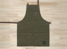 Re-purposed Military Tent Apron