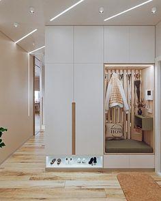 Wardrobe Door Designs, Wardrobe Design Bedroom, Luxury Bedroom Design, Small House Interior Design, Home Room Design, Living Room Designs, House Design, Apartment Interior, Apartment Design