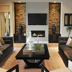 contemporary living room by Studio KW Photography