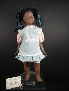 "Heidi Ott 12"" Beautiful Black/African American Doll ""Sadie"""