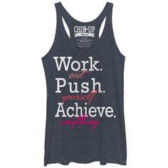 /1/5/15CHIN107WA--Anything Workout Tops, Workout Shirts, Cute Shirts, Funny Shirts, Girls Weekend Shirts, Cute Shirt Designs, Pe Teachers, Fitness Gadgets, Chin Up