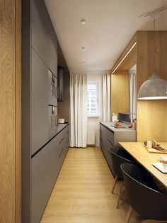 It is now very easy to create useful kitchens in small houses. Our American kitchen models will help you get great ideas. The favorite of all host.