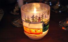 Christmas candlelight.
