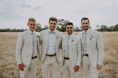 mens wedding suits black and white Tan Groomsmen Suits, Groomsmen Outfits, Bridesmaids And Groomsmen, Groomsman Attire, Groomsmen Wedding Attire, Tan Tux, Rustic Groomsmen Attire, Casual Groom Attire, Wedding Colors