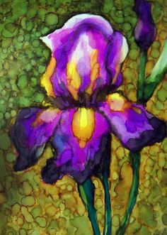 Image result for alcohol ink demo