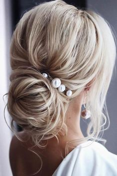Extra Large Pearl Wedding hair pin Pearl Bridal hair pin Pearl hair pin Pearl Wedding hair accessories Pearl Bridal hair accessories Set of glass pearls (not plastic pearls)! Set of 4 hairpins including & 3 x 14 mm Set of 6 hairpins including 2 Easy Hairstyles For Long Hair, Bride Hairstyles, Short Hairstyles, Graduation Hairstyles, Hairstyles Videos, Latest Hairstyles, Hair Videos, Teenage Hairstyles, Gorgeous Hairstyles