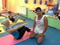 проработка мышц спины и пресса-для всех возрастов