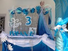 Frozen Birthday Party Ideas | Photo 1 of 19 | Catch My Party