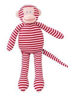 Alimrose Musical Monkey - Red Stripe