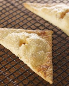 Fruit-Filled Hand Pies - Martha Stewart Recipes - use fresh peaches Just Desserts, Delicious Desserts, Dessert Recipes, Yummy Food, Layered Desserts, Paleo Sweets, Yummy Eats, Baking Recipes, Plum Recipes