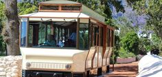 Tram vehicles Wines, South Africa, Gazebo, Outdoor Structures, Vehicles, Kiosk, Rolling Stock, Cabana, Vehicle