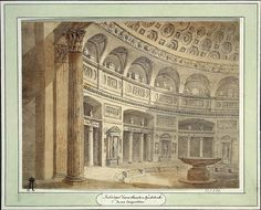 Interior of the Sepulchral Hall