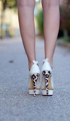 gorgeous Charlotte Olympia heels!