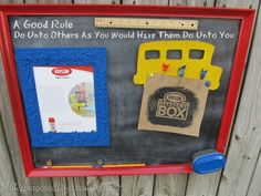 Did you know you can spray paint puzzle pieces and cork board?  Spray paint just makes everything more fun, don't ya think?