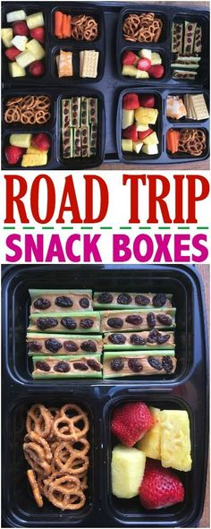 Road Trip Snack Boxes- And Preparing Your Car For Summer Travel via - Make The Best of Everything.  #framfreshbreeze #ad #carcampinglunch