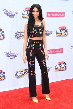 Zendaya at the 2015 Radio Disney Music Awards