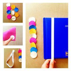 "Yummy Handmade: DIY: Semne de carte ""elastice""/Elastic Bookmarks"
