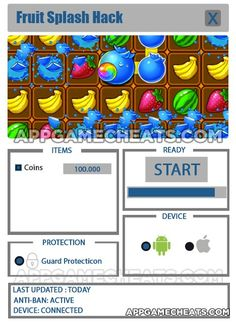 Fruit Splash Hack Cheat 2016 tool download. With updated Fruit Splash Hack you will have just fun. Try Fruit Splash Hack tool. Fruit Splash Hack working with last update.