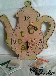 Decoupage po godzinach: Tea time