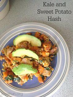 Loyal RUN: Kale and Sweet Potato Hash