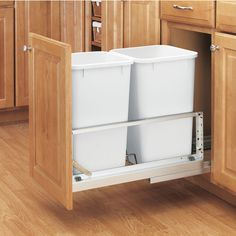 The 5349 series trash cans are desiged with double bins to increase functionally and enchance the look and performance of your kitchen, bathroom and closet.