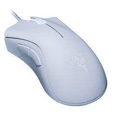 3ad05797c9b Razer DeathAdder Essencial Optical Professional Grade Gaming Mouse  ergonômico Destro Projeto 6400 DPI ajustável - Branco